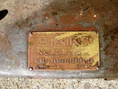 Binks air compressor