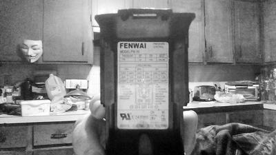 FENWAI model FW-10 pressure switch