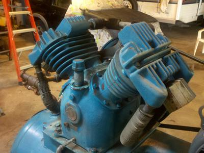 Front Right 1953 compressor