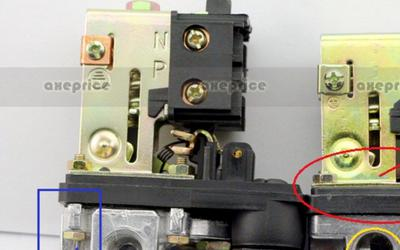 Pressure switch Spring position