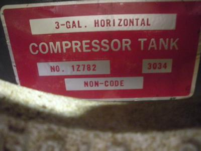 Tag on Tank Speedaire 2Z498