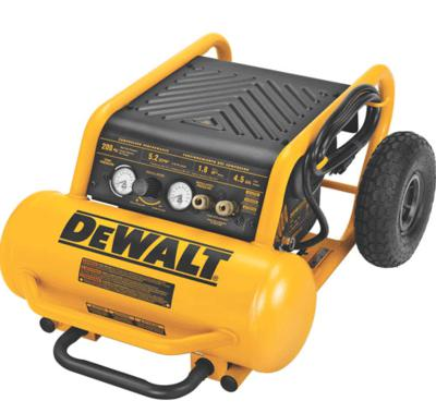 D55146 1.6 Hp Continuous, 200 Psi, 4.5 Gallon Compressor