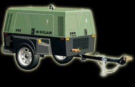 Sullair Air Compressor Model: 260