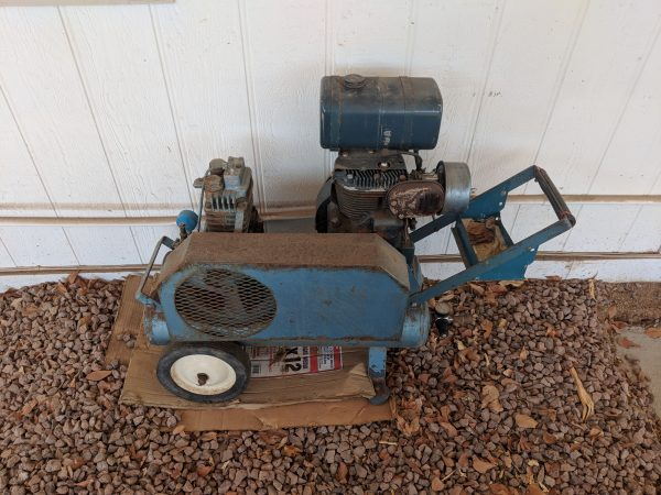 Old blue air compressor - looking for information on it