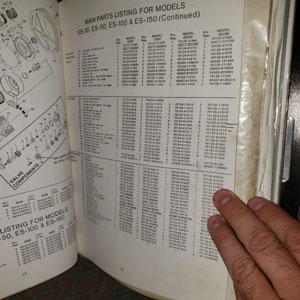 Troy provides compressor info - 1