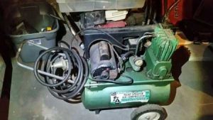 old Craftsman 106.154541 model air compressor
