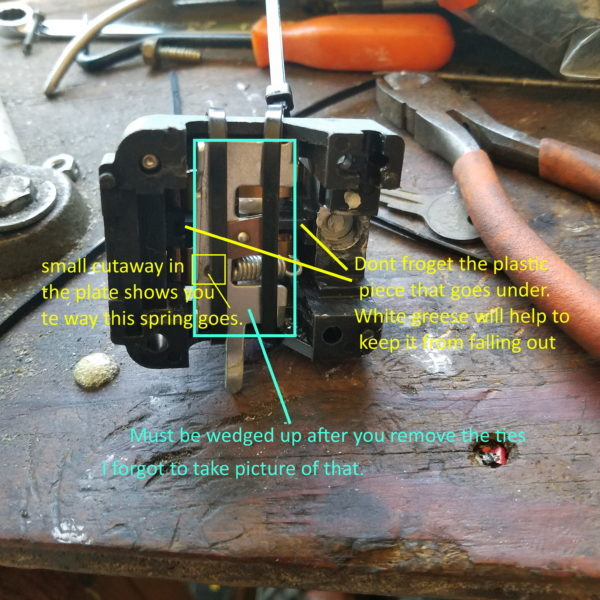 Putting a compressor pressure switch back together - Photo 1